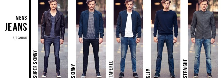 Fitted Jeans Mens - Jon Jean